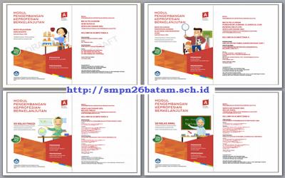 Modul PKB Guru SD Revisi Tahun 2017 (Lengkap Semua Mapel) Kelompok Kompetensi A – J