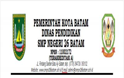 PENGUMUMAN KELULUSAN KELAS IX SMPN 26 TP. 2020 - 2021