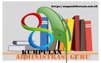 Kumpulan Administrasi Guru SD, SMP, SMA dan SMK KTSP & Kurikulum 2013