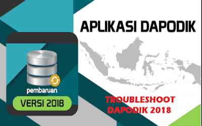Troubleshooting dan solusi Aplikasi Dapodikdasmen 2018