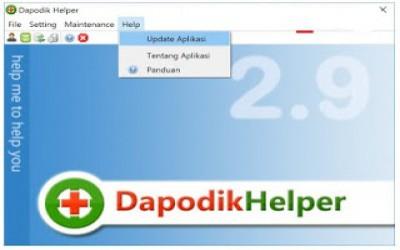 APLIKASI DAPODIK HELPER  SUPPORT DAPODIKDAS V2018