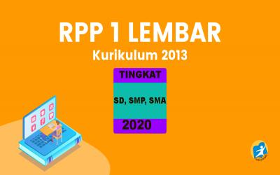 RPP 1 Halaman 3 Komponen Untuk Tingkat SD SMP SMA